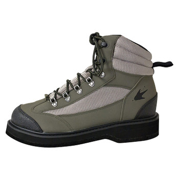 Men's Hellbender Wading Boot - Felt | Green / Silver / Black