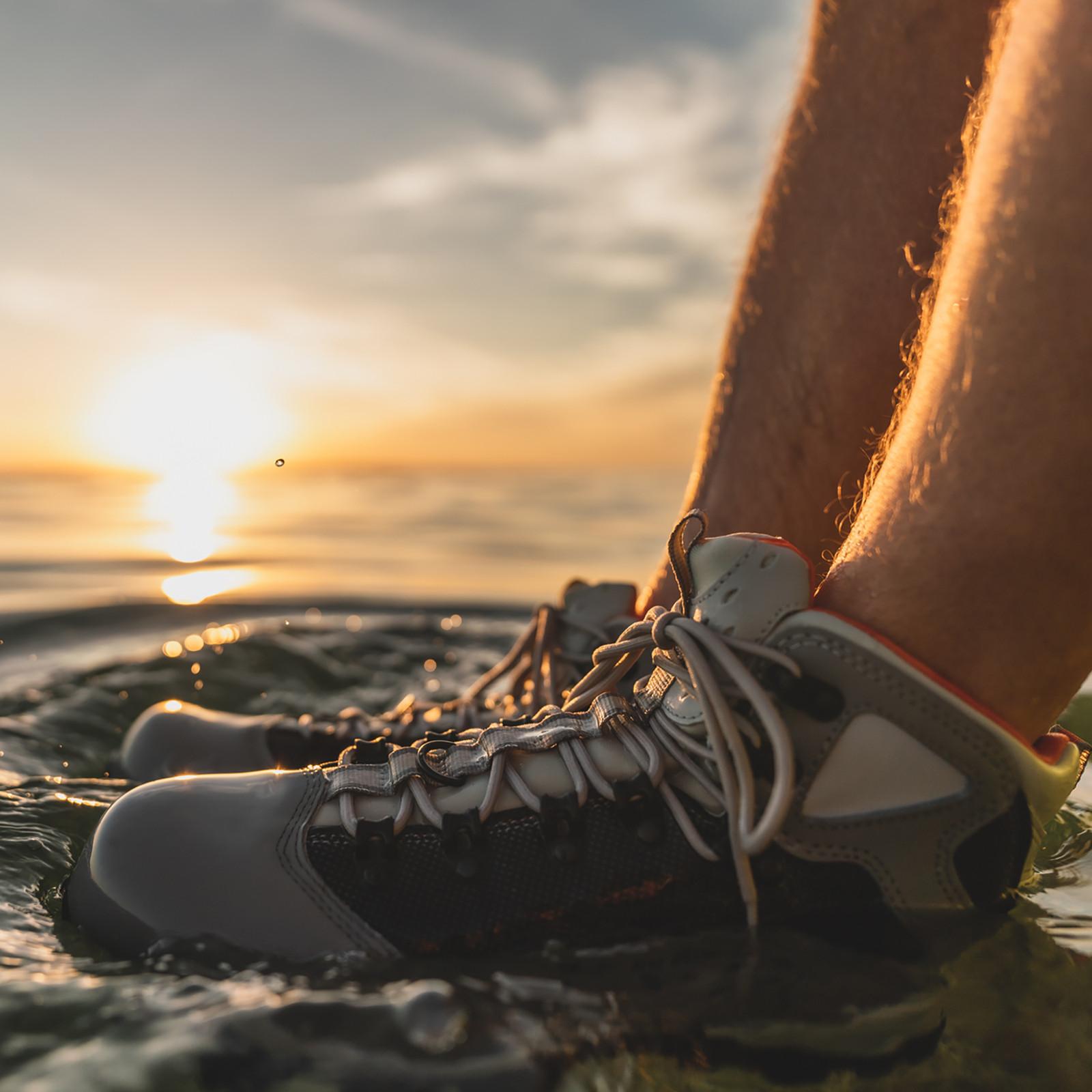 Men's Saltshaker Flats Shoe - Cleated | Slate / Gray-large