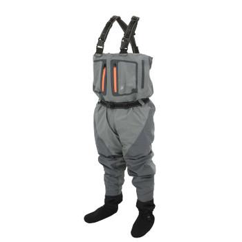 Pilot II Breathable Stockingfoot Wader | Slate / Gray