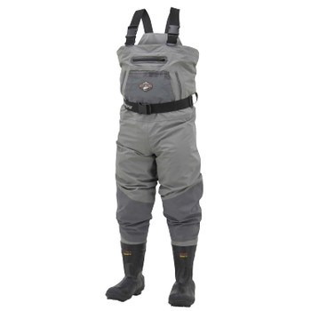 Steel Header Reinforced Nylon Insulated Bootfoot Waders Cleated