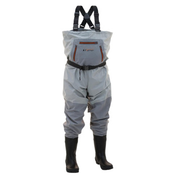 Men's Stout Hellbender™ Cleated Chest Wader| Slate / Gray