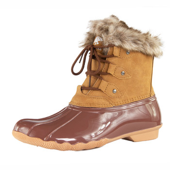 DriDucks Women's Jessie Lace-Up Boot Brown