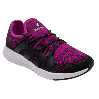 Women's High and Dry Shoe Black and Pink