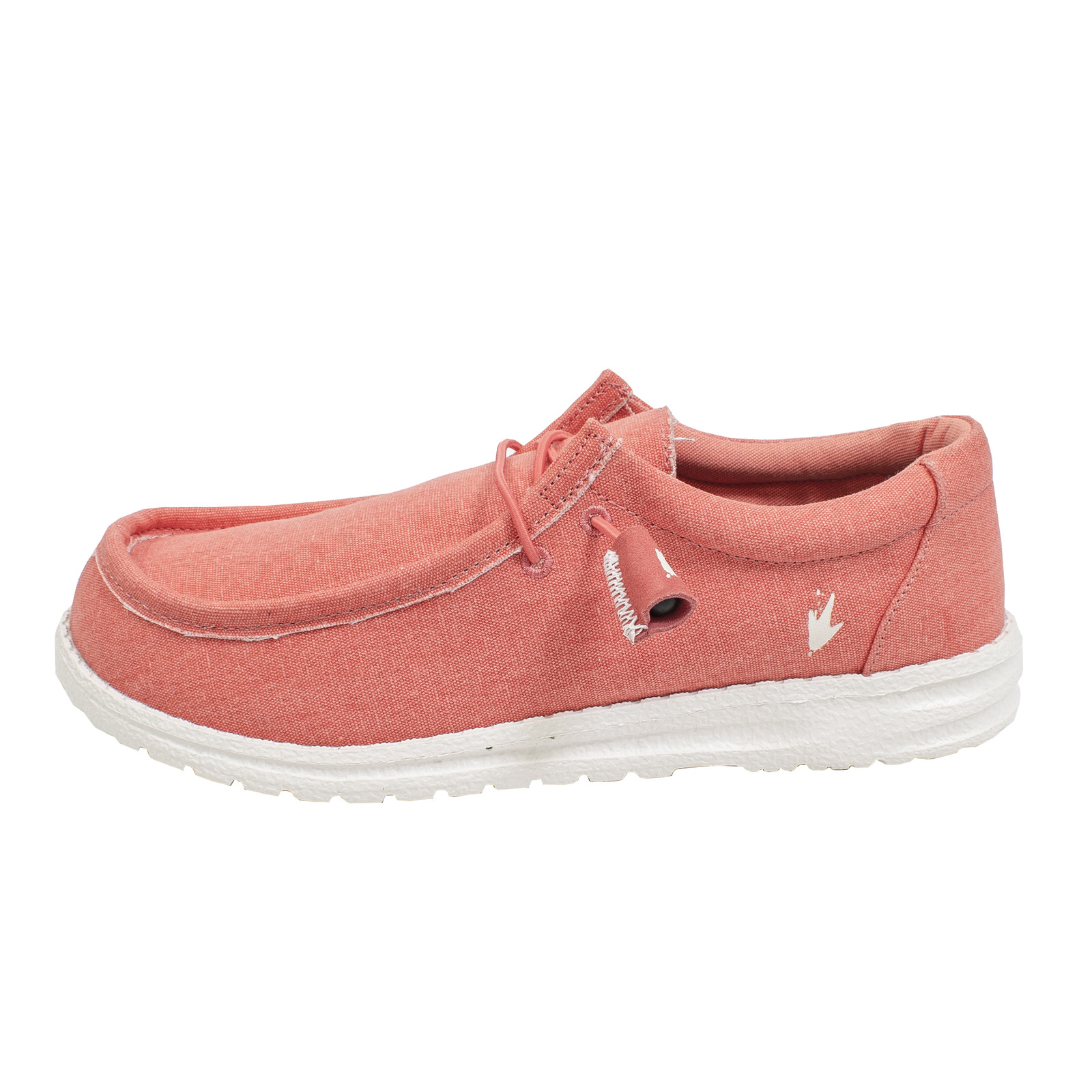 Women's Java Lace-Up Shoe Red-large
