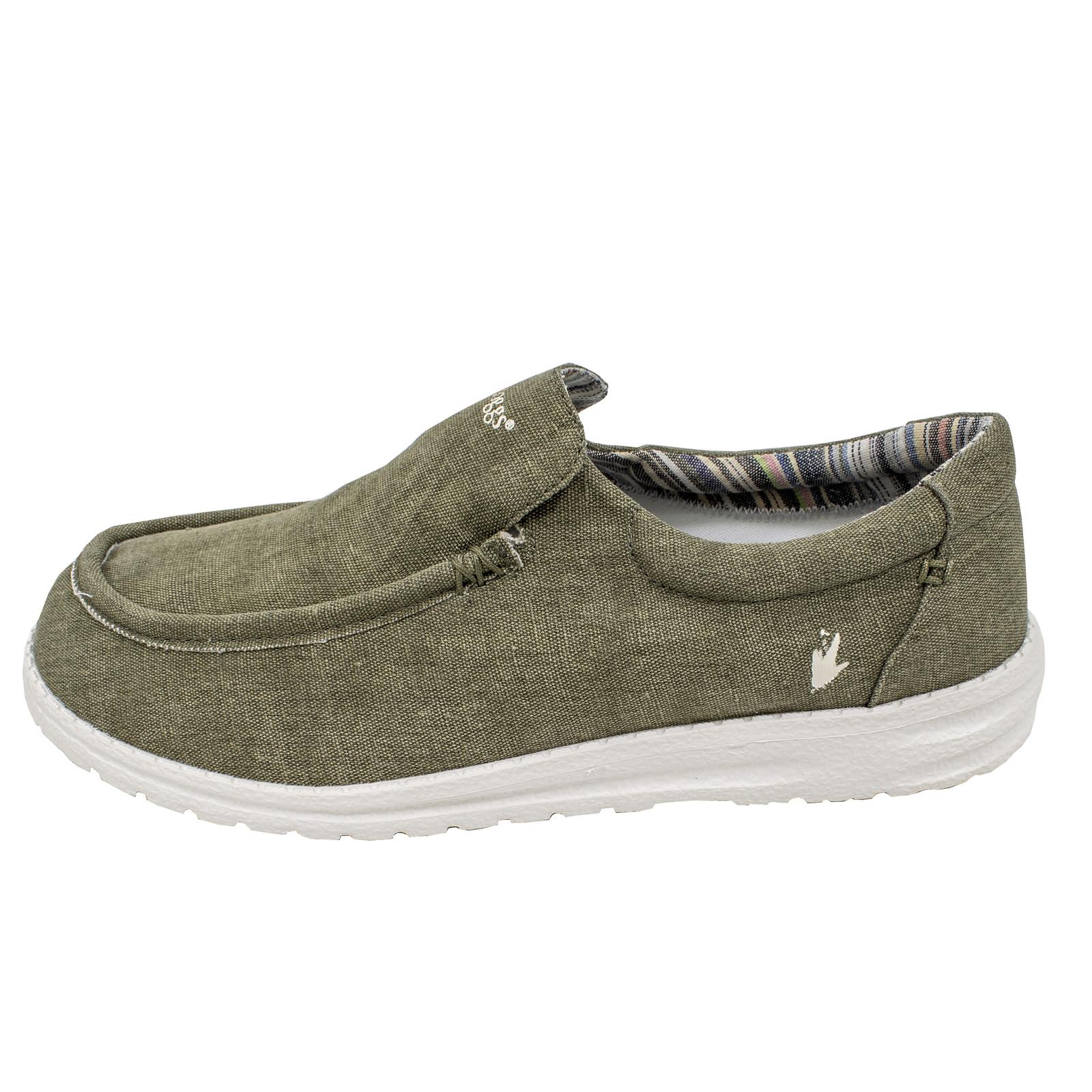 Men's Java Casual Slip-On Shoe Olive-large