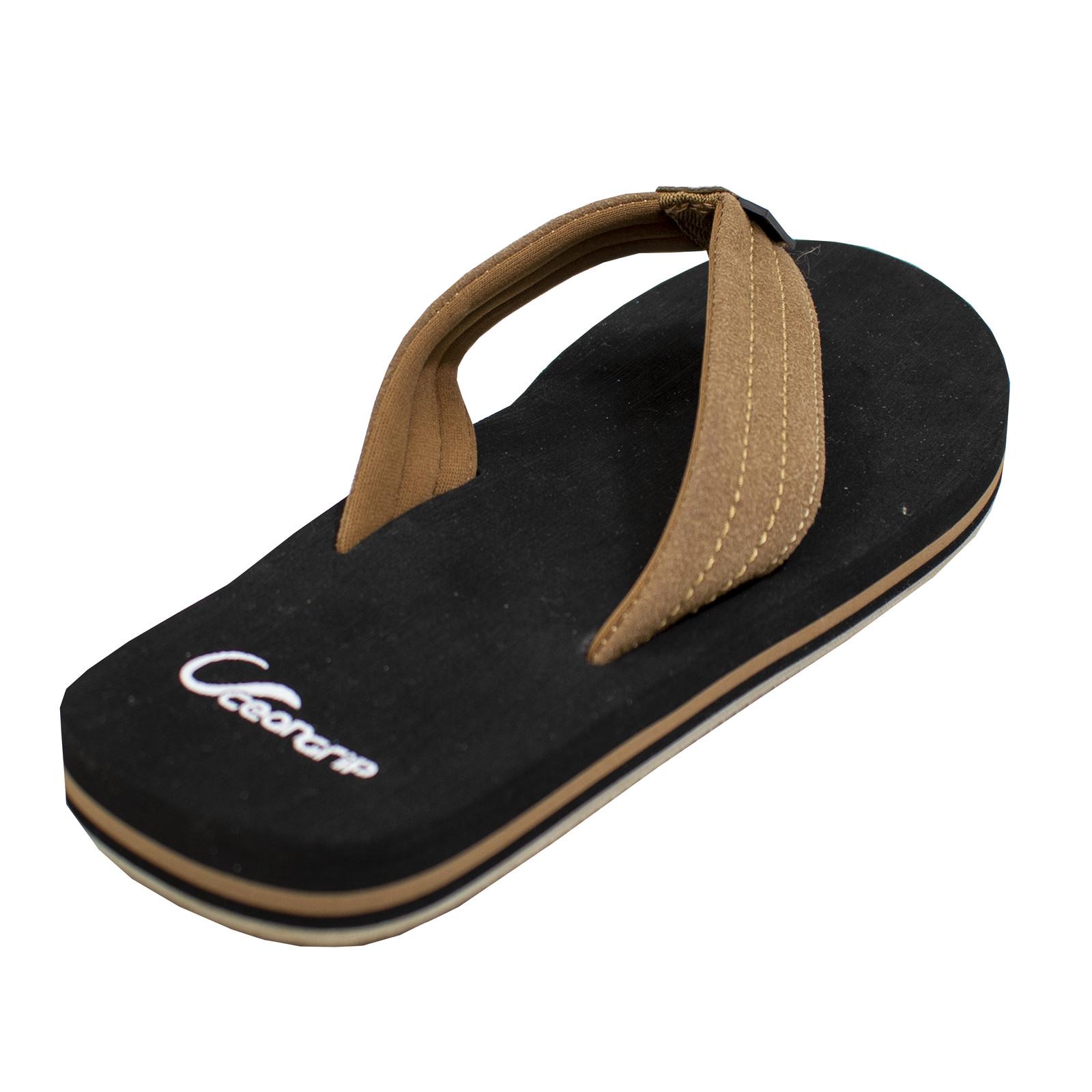OceanGrip Angler Sandal Black-large