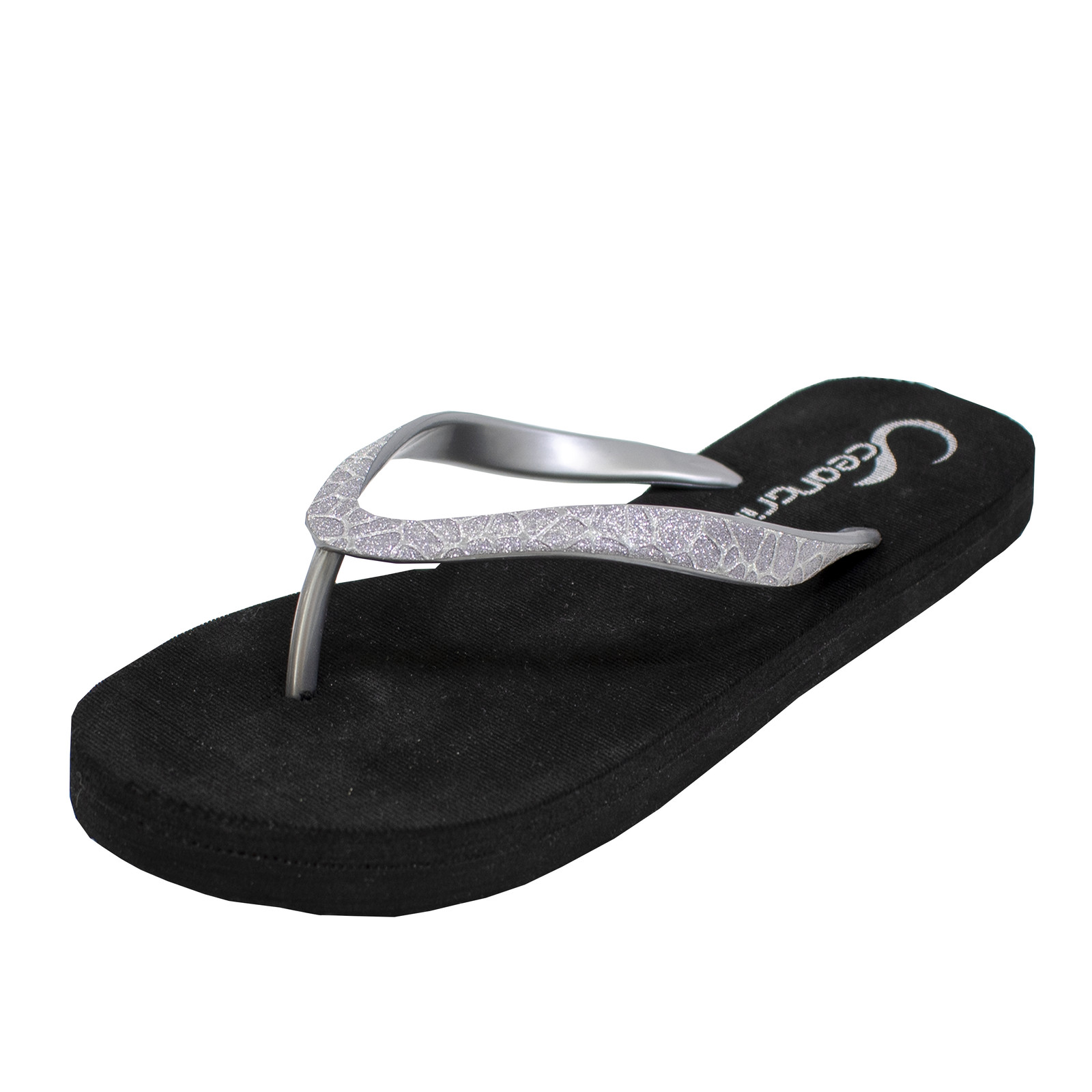 OceanGrip Glitter Sandal Black-large