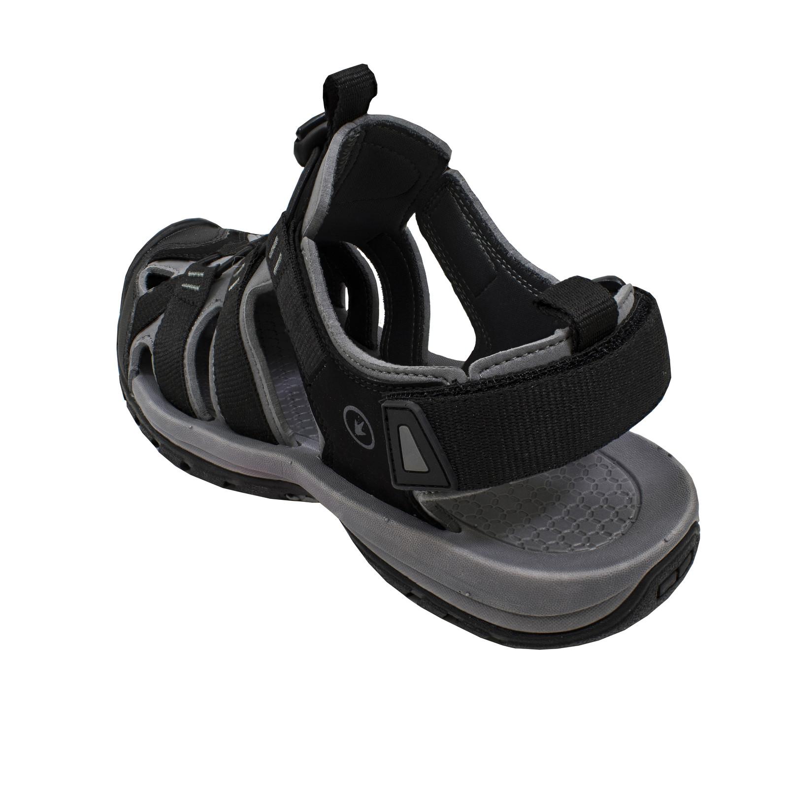 River Sandal Shoe Black-large
