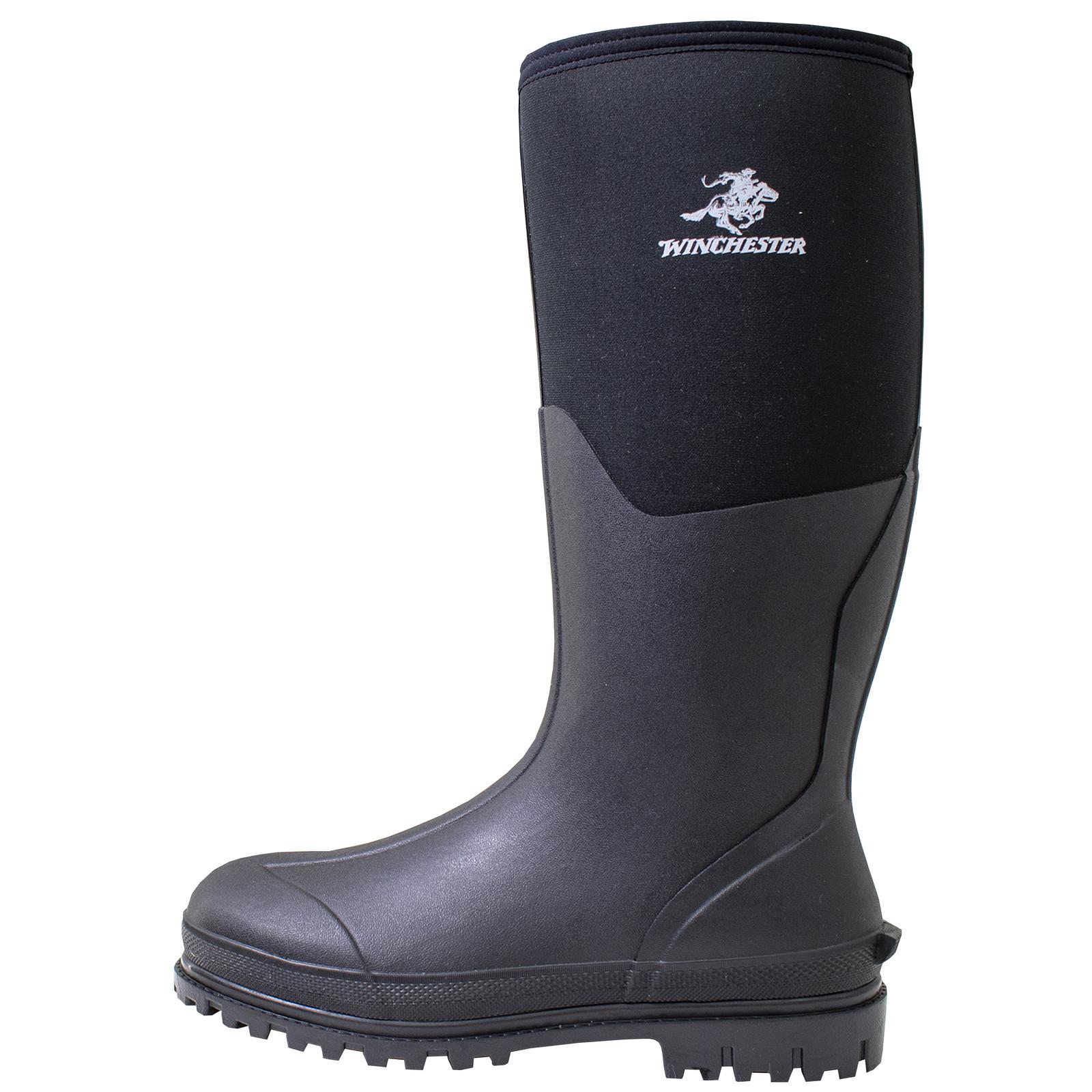Winchester Daybreak Knee Boot Black-large