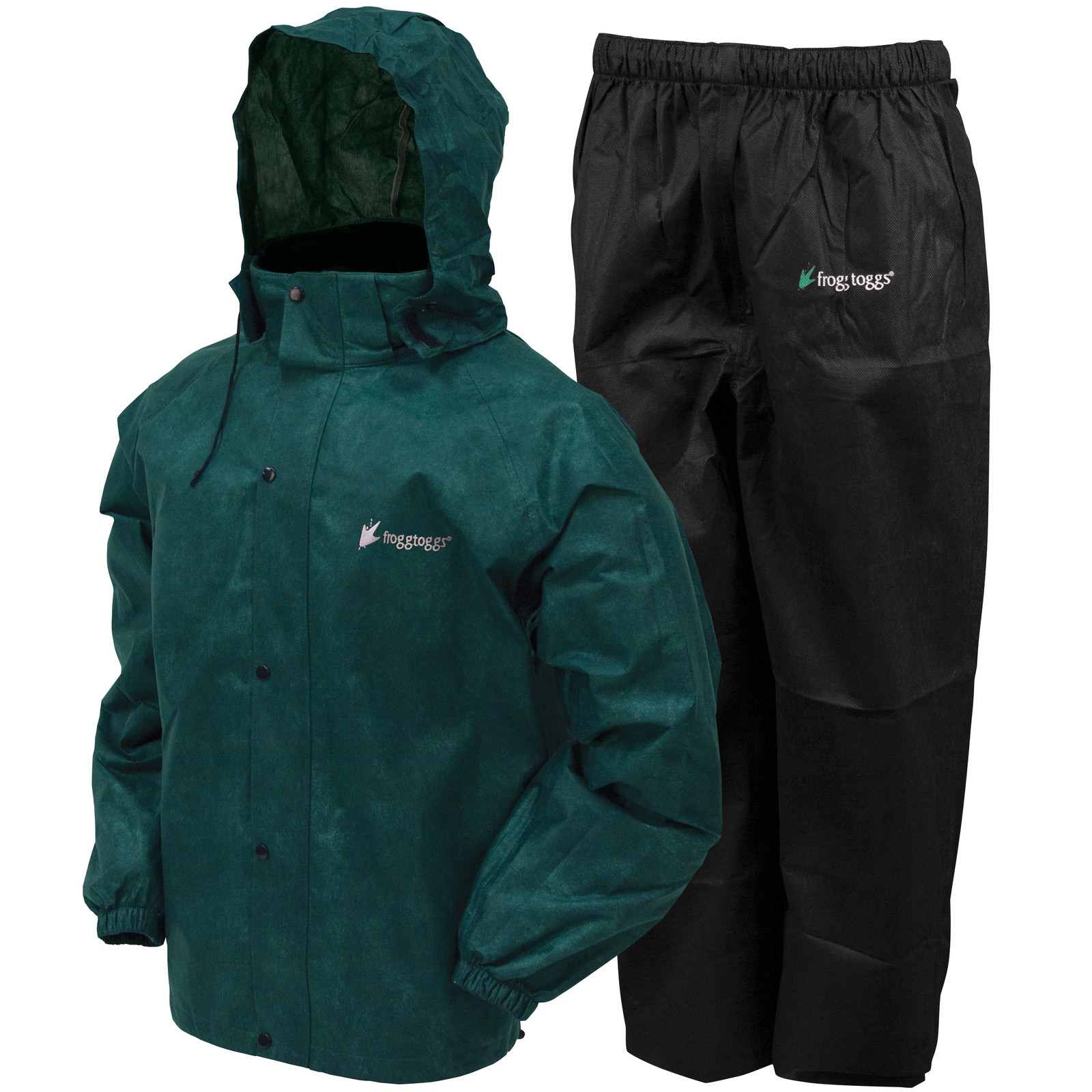 All Sport Suit Black & Green-large