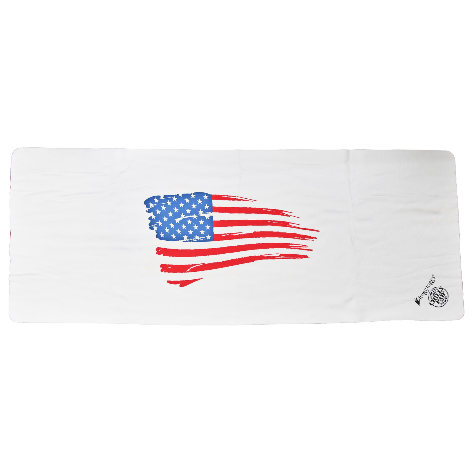 Chilly Pad Cooling Towel | White | All American US Flag-large