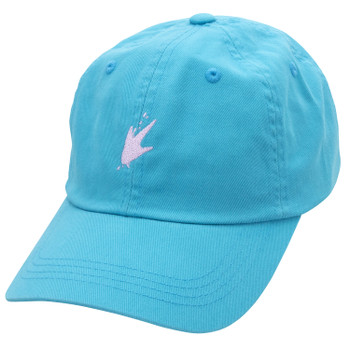 frogg toggs Ladies Cap | Light Blue | Pink Logo