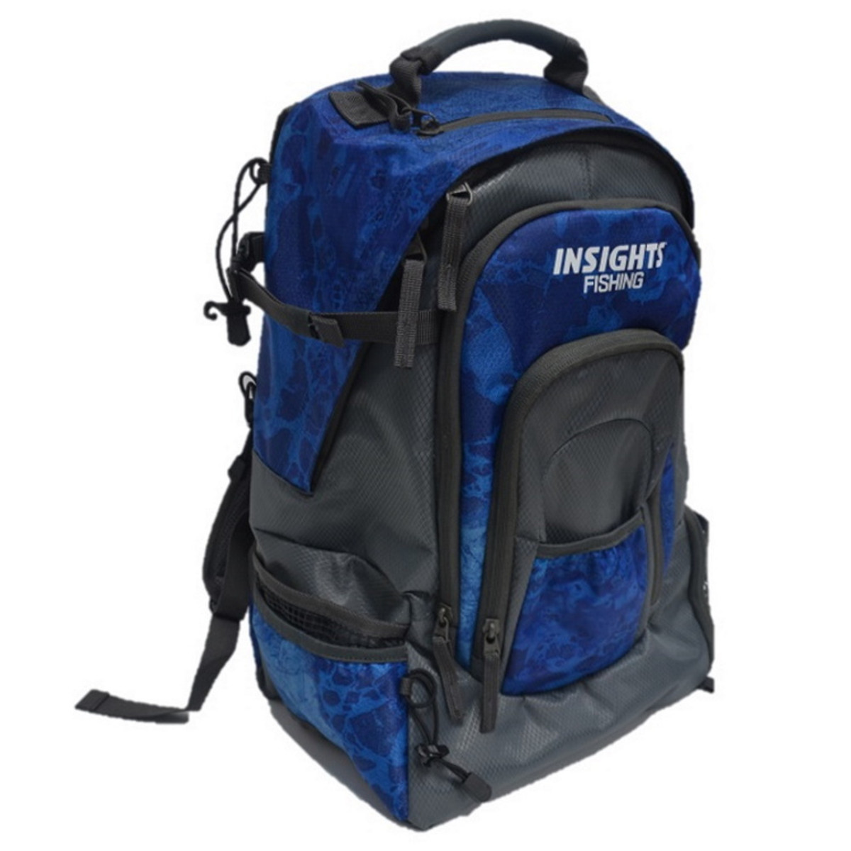 i3 Tackle Backpack in Realtree Wav3 Blue